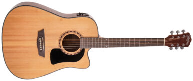body of acoustic guitar