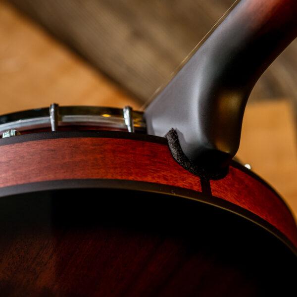 back of banjo neck