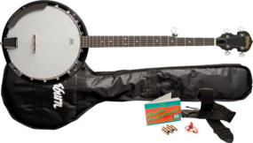 B8K AMERICANA BANJO B8 PACK main image of the banjo and accessories