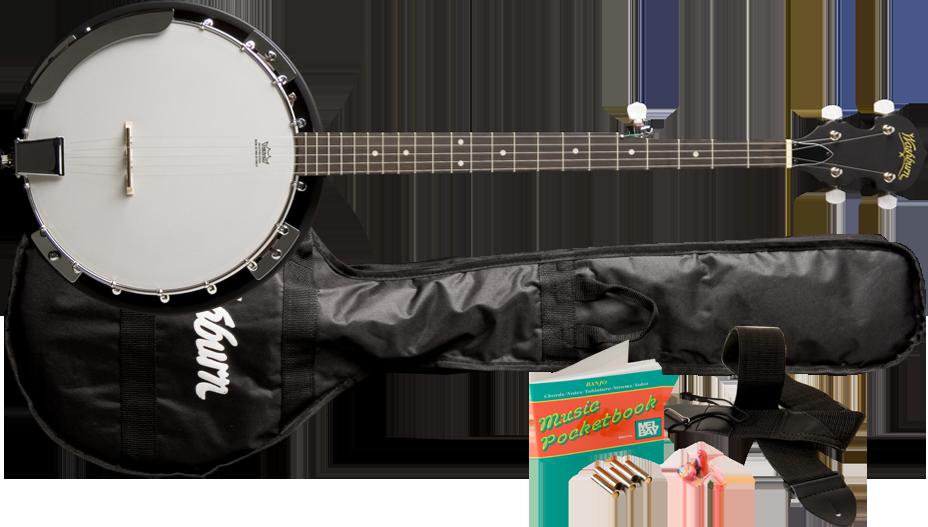 B8K AMERICANA BANJO B8 PACK main image of the banjo and accessories