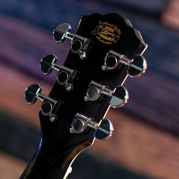 back of guitar headstock
