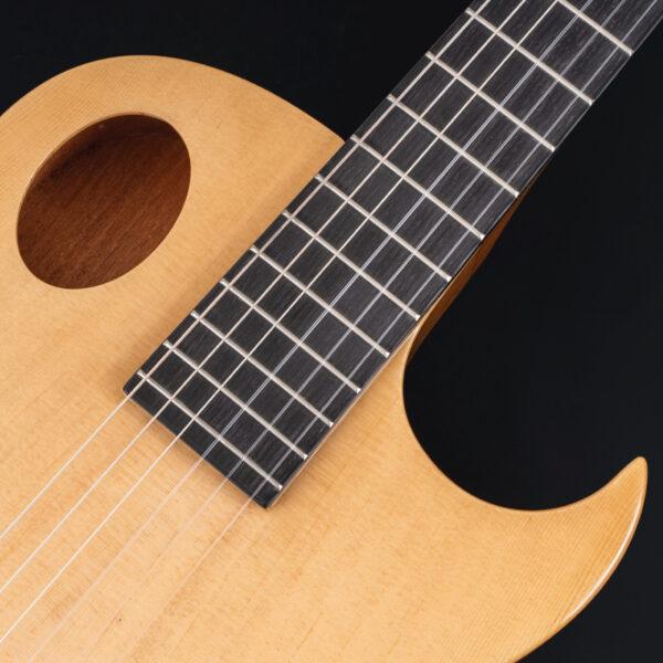 top of body of Washburn guitar