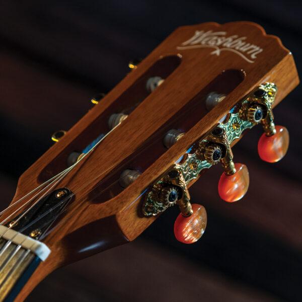Washburn guitar headstock