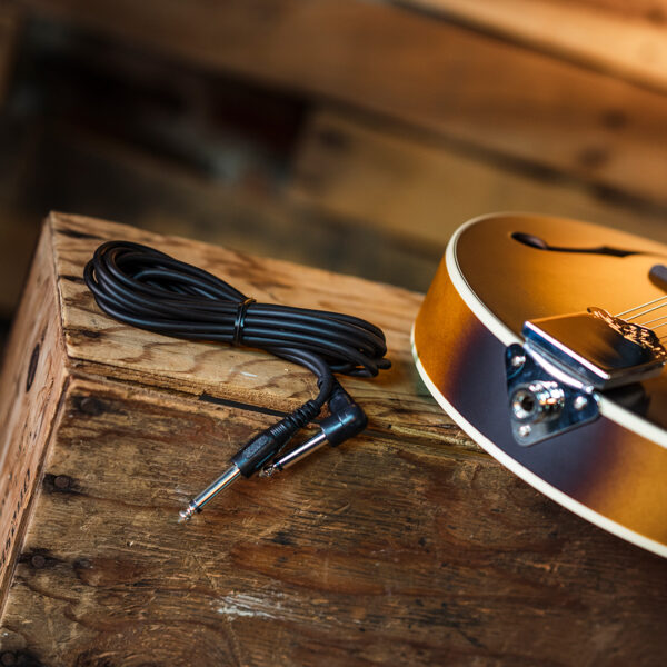 cable beside mandolin