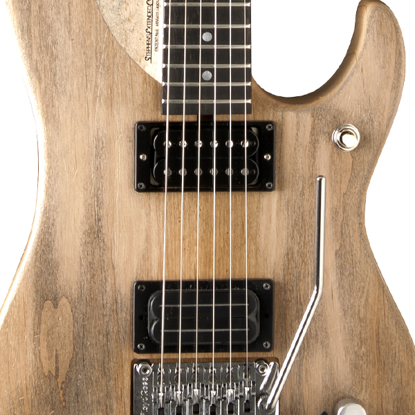 body of Washburn electric guitar