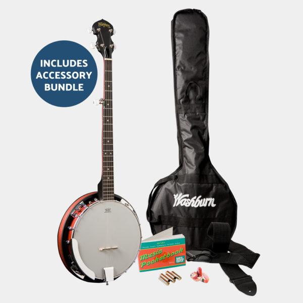 B8K AMERICANA BANJO B8 PACK banjo and accessories