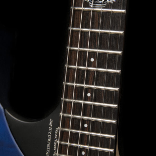 PXM10FRQTBLM PARALLAXE M10FRQ detail of 12th fret inlay