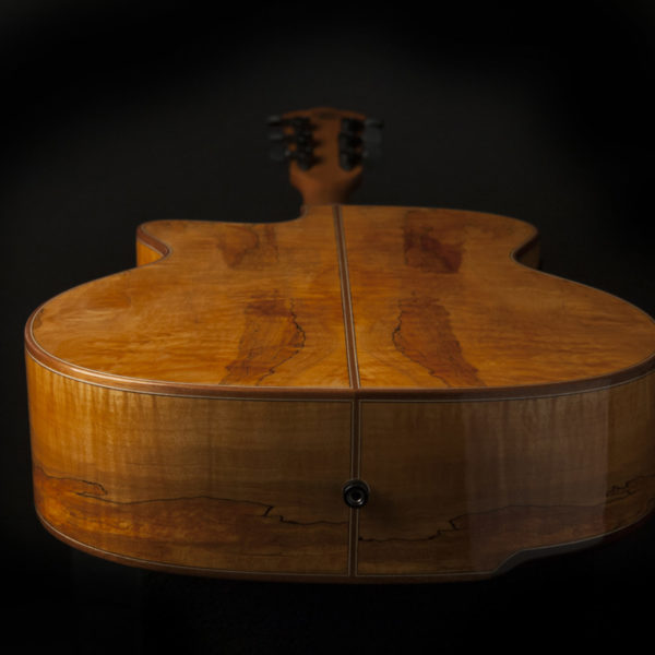 WCG66SCE COMFORT G66SCE SPALT MAPLE view of the bottom and back