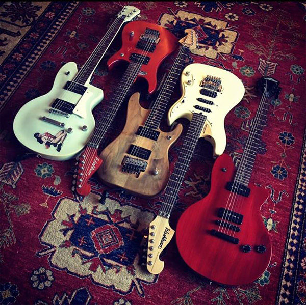 musicians collection of vintage washburn guitars