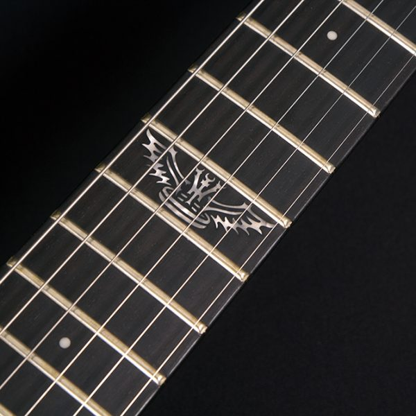 PXM-DP10WH CLOSE UP OF THE 12TH FRET INLAY
