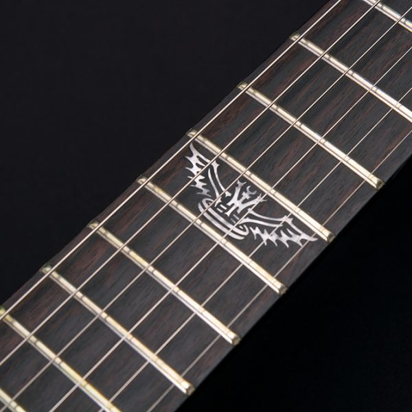 PXV26CK CLOSE UP OF THE 12TH FRET INLAY