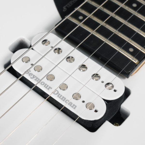 close up of parallaxe david palau signature model M10FR neck pickup