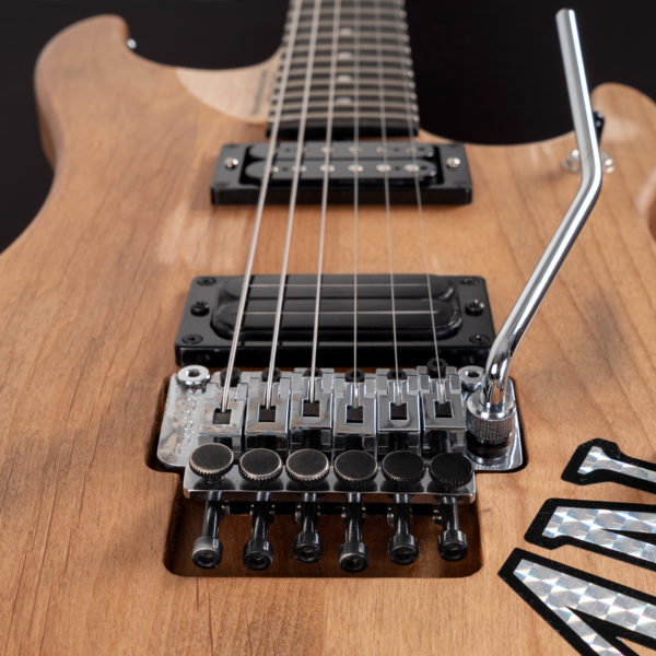4N NUNO BETTENCOURT SIGNATURE USA close up of the Floyd Rose Bridge