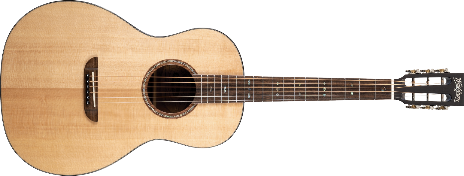 P33S Royal Sapphire Acoustic Parlor Guitar main image of the front