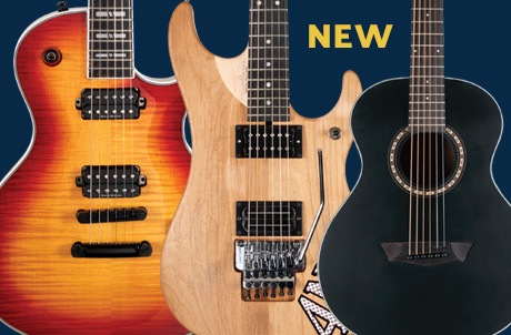 3 New guitar models for 2019