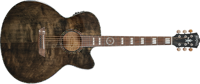 Full length photo of the Michael Sweet J40SCE acoustic guitar