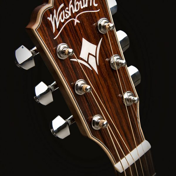 EA20 headstock from the front