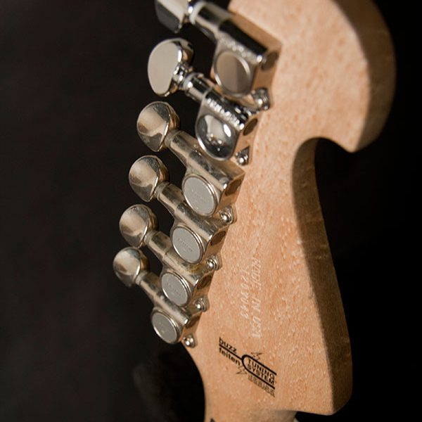 N4AUTHENTIC back of headstock