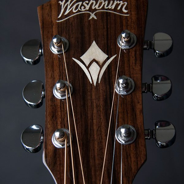 HD20SCE close up of the front of the headstock