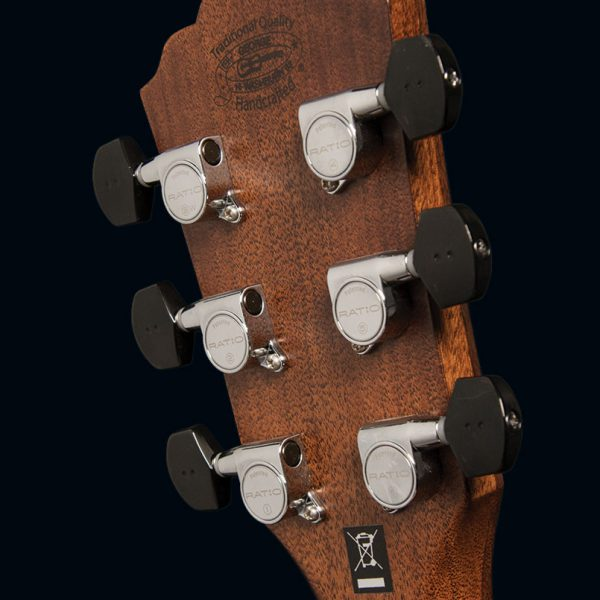 WCG700SWEK angled image of the back of the headstock